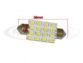 LED Festoon (Sofit) 36mm 16 SMD
