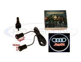 Set LED Logo Laser Cree 7W - AUDI
