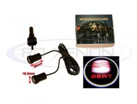 Set LED Logo Laser Cree 7W - SEAT