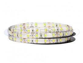 Banda 300 LED 5630 ALB CALD - 500 cm Impermeabila