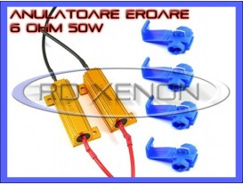 Set Anulatoare Eroare Rezistor LED H1, H3, H7, H11, HB3, HB4