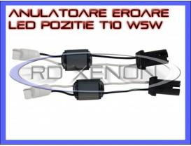 Set Anulatoare Eroare Rezistor LED T10 W5W