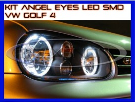 Kit Angel Eyes LED SMD - VW Golf 4