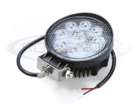 Proiector LED Offroad 27W Rotund - Raza 30°