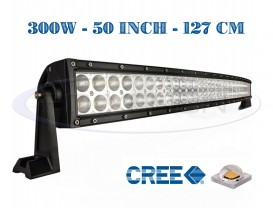Proiector Offroad LED CREE Curbat 127cm 300W - Combo Beam