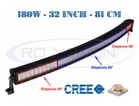 Proiector Offroad LED CREE Curbat 81cm 180W - Combo Beam